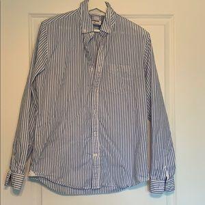 Men's Button-Up Shirt- Express Medium